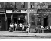 Williamsburg Scene: 323 - 327 Lee Avenue 1944