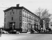 Willoughby Avenue, west from Waverly Avenue, 1967