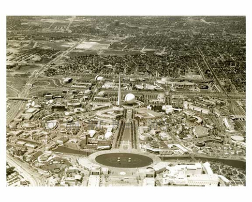 Worlds Fair under coonstruction 1959 Flushing - Queens NY