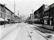 Wythe Avenue looking north from Taylor Street, 1910