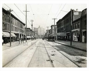 Wythe & Taylor Streets Williasburg 1912 Brooklyn NY
