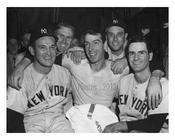 Yankees with Joe DiMaggio in the Center