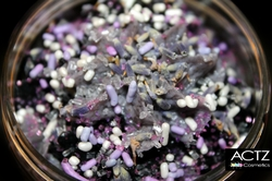"""Amber & Lavender Scrub<br>""""Butter Layers"""""""