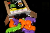 Cauldron Animal Crackers<br>1 Dozen Box Set
