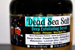 Pumpkin Butter<br>Dead Sea Salt Scrub