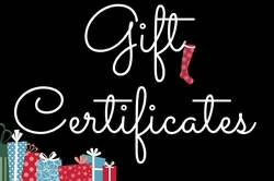Gift Certificates $40 for $50