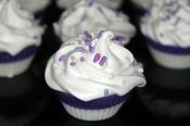 Grape Soda Fizz Mini Cupcakes
