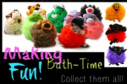 Holiday Bath-Time Puffs