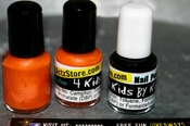 Kids Jack-O'-Lantern Polish (Set of 2)