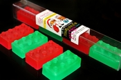 Lego Block Stocking Tubes