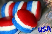 Mini Macaroon Soaps Born in the USA