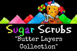 "Sugar Scrub ""Butter Layers Collection"""