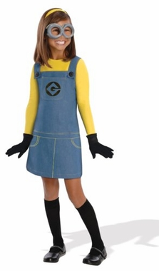 Despicable Me 2 Female Minion Kids Costume