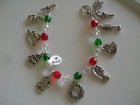 Christmas : Silver-Plated Charms
