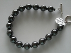 Men's :: Hematite Rounds 10mm