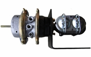 Air/Hydraulic Brake System with Iron 1-1/8 Master Cylinder for Passenger Car and Light Truck