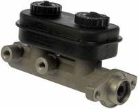 SPEED Mopar Style 1-1/8 inch Universal Master Cylinder with Black Plastic Reservoir