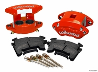 Wilwood D154 Front Caliper Kits (1 or 2 piston)
