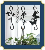 Decorative S-Hook Plant Hangers