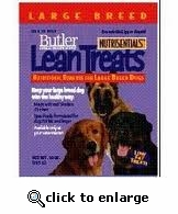 Butler Lean Treats for LARGE Dogs 10 oz 6 PACK
