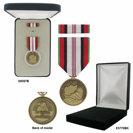 1-1/4 Inch Afghanistan Campaign Military Medal
