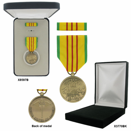 1-1/4 Inch Vietnam Service Military Medal
