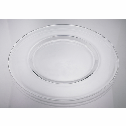 13-1/2 Inch Glass Charger Plate
