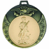 2 3/4 Inch Eagle and Stars Medal Frame-Holds 2 Inch Medallion Insert Disc