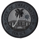 City Of Sweetwater Police Florida Subdued Patch