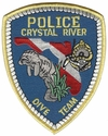 Crystal River Police Dive Team Florida Patch
