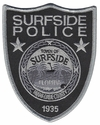 Surfside Police Miami-Dade County Florida Subdued Patch