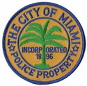 The City Of Miami Police Property Florida Patch