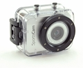 DVC1080 Waterproof Action Cam w/Display