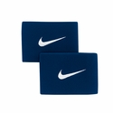 Correas de F�tbol Nike Guard Stay II - Azul Marino