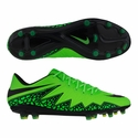 Nike Hypervenom Phinish II FG Soccer Cleats - Green Strike
