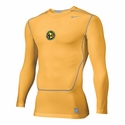 Playera Nike Core LS del Club America - Amarillo