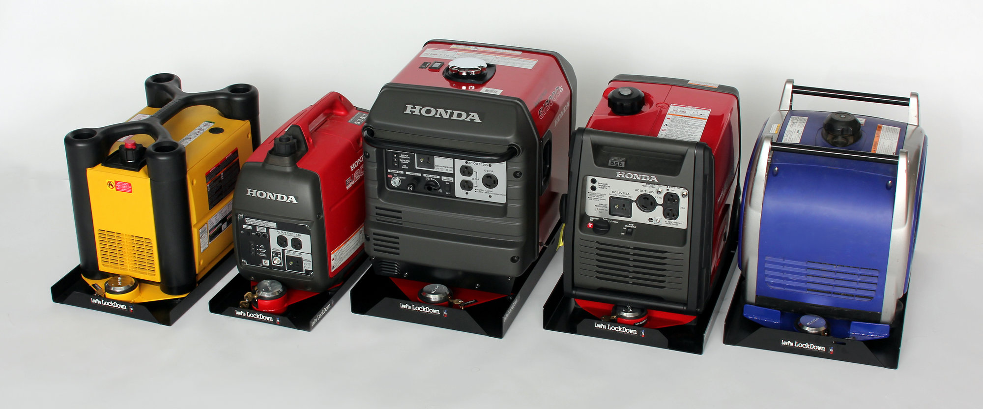 generator security mount systems