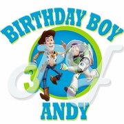 Buzz Lightyear Personalized   Birthday t shirt