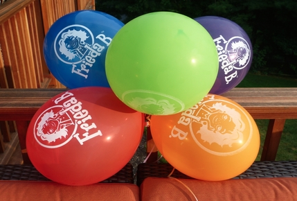 New! Frieda B. Balloons Pack of 10