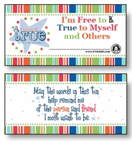 FBT Tin Stickers Pack of 10 Pairs