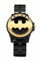 Batman 75th Year Limited Edition Rotator Mens Gold-toned Logo Watch (Bat5113)