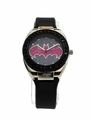 Batman Batgirl Pink Emblem Strap Watch (BGL9009)