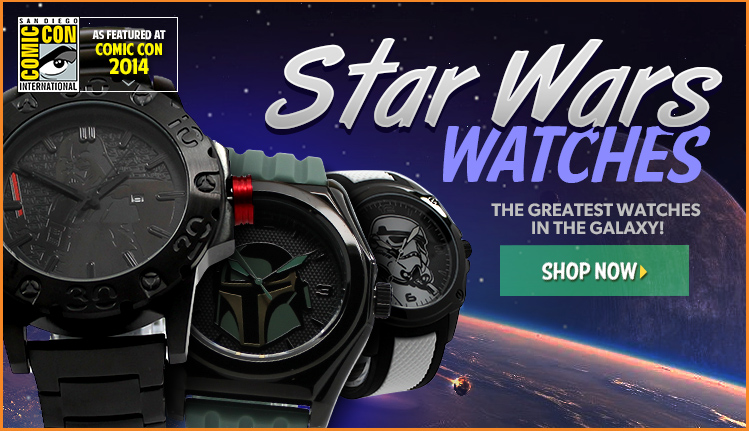 Star Wars The Force Awakens Watches