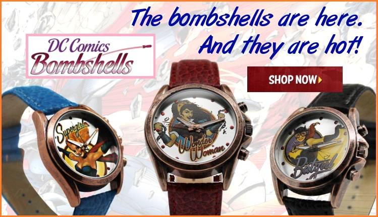 DC Comics Bombshell Watches
