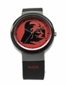 Star Wars Darth Vader Black Rubber Silicon Strap Watch (DAR3504)