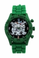 Teenage Mutant Ninja Turtles TMNT Group Shot Green Rubber Strap Watch (TMN9046)