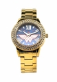 Wonder Woman �Justice� Gold-tone Watch (WOW8063)