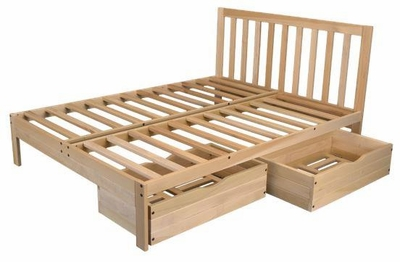 Full Size Charleston2 Storage Bed