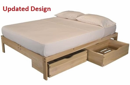 Full Size Nomad2 Storage Bed