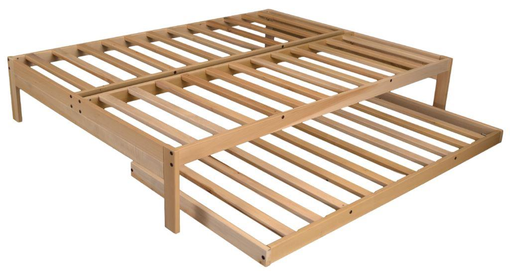Full Bed With Trundle Bed Cheap Price Made In Usa